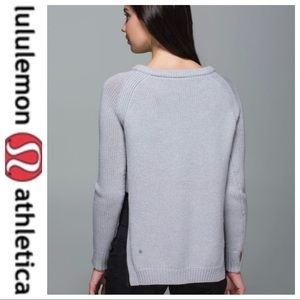 💕SALE💕 Lululemon Gray Yin to You Sweater